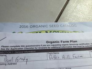 Organic Paperwork